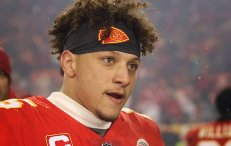 KANSAS CITY, MO - JANUARY 12: Kansas City Chiefs quarterback Patrick Mahomes (15) after an AFC Divisional Round playoff game game between the Indianapolis Colts and Kansas City Chiefs on January 12, 2019 at Arrowhead Stadium in Kansas City, MO.  The Chiefs won 31-13. (Photo by Scott Winters/Icon Sportswire)