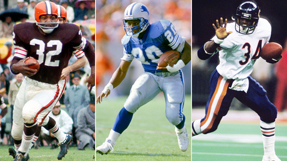 Running Back Finalists Announced for All-Time Team
